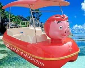 猪猪侠公园游船脚踏船