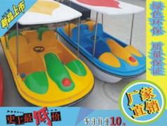 新款六人脚踏船甲板要按时进行清洗