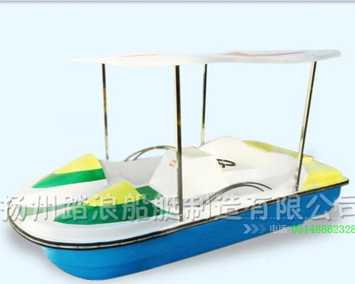 四人脚踏船观光船