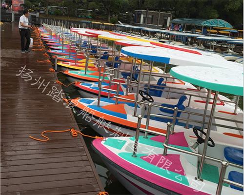 公园自排水电动游船