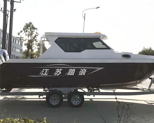 镁铝合金海洋专用豪华海钓艇