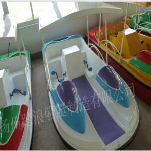 新款水上四人脚踏船