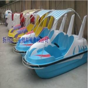 各种样式的双人脚踏船