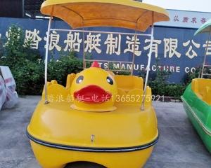 常熟小黄鸭公园游船脚踏船