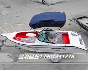 张家港铝合金5.5米中操快艇